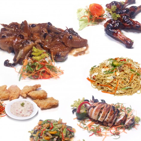 Pamilya set Good for 4 persons