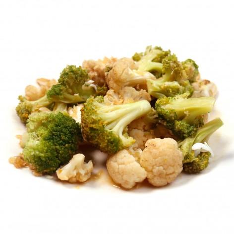 Broccoli and Cauliflower Polonaise