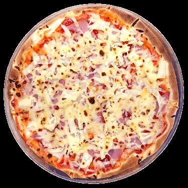 Piñahamon Pizza (Hawaiian)