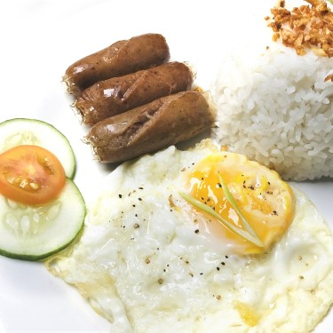 Longganisa and Egg