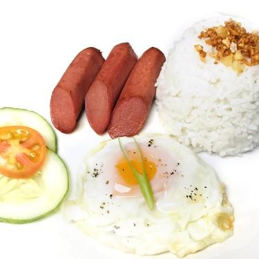 Chicken Hotdog and Egg