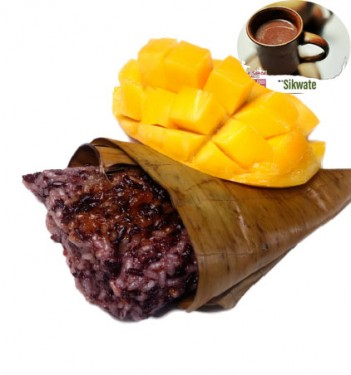 Puto Maya ug Mangga (Small) with Sikwate